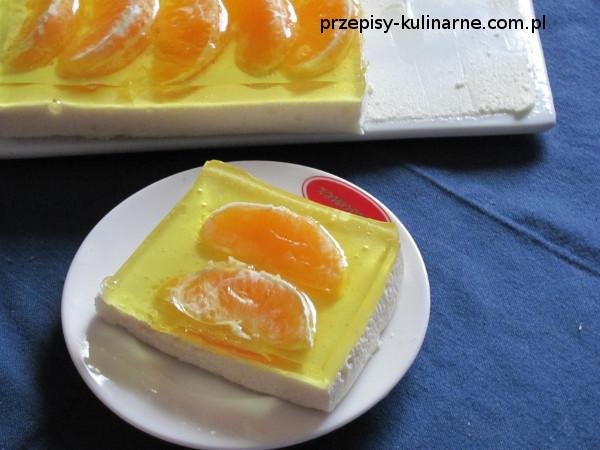 Pianka cytrynowa z pomarańczami