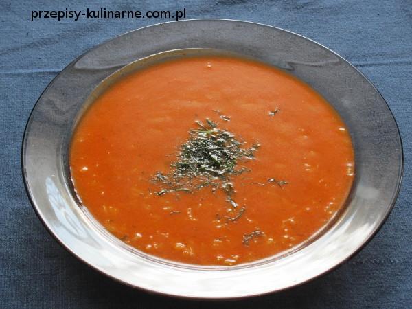 Zupa pomidorowa - łatwa i szybka