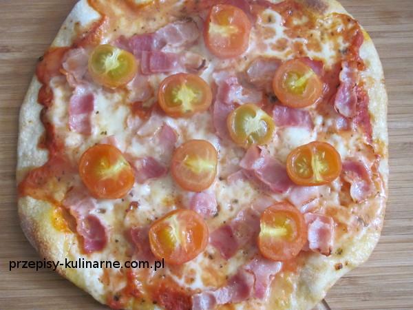 pizza z rukola