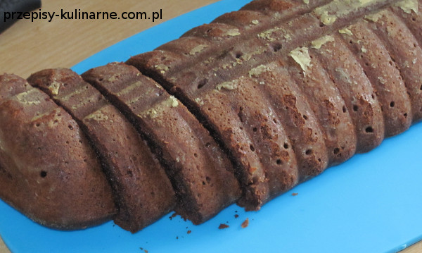 ciasto bananowo kakaowe
